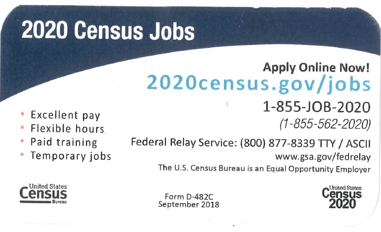 Census Card