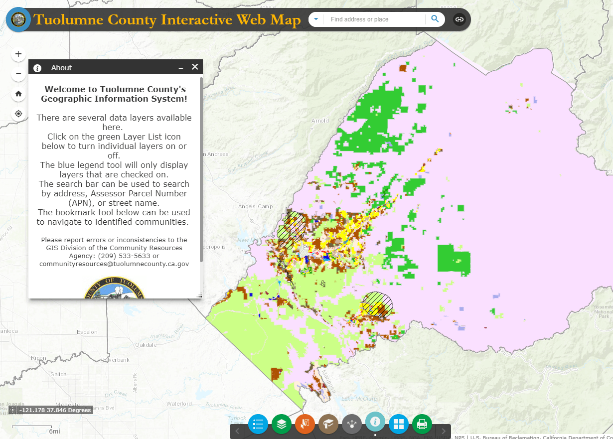 GIS | Tuolumne County, CA - Official Website