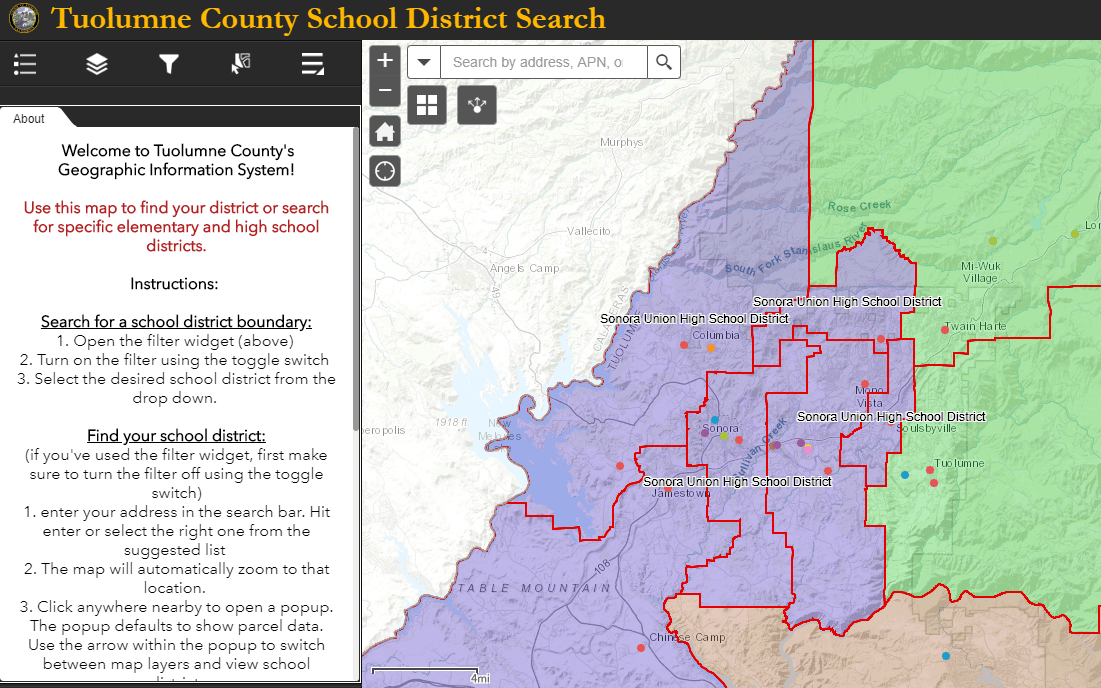GIS | Tuolumne County, CA - Official Website