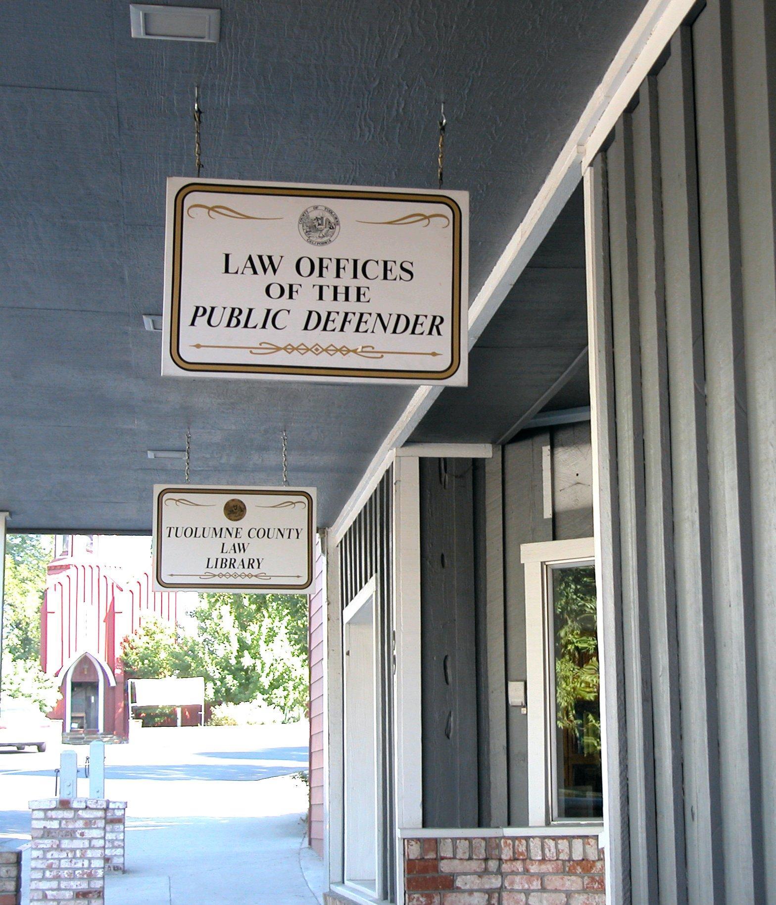 Public Defender Tuolumne County Ca Official Website