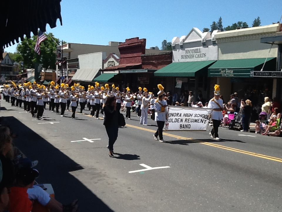 Sonora High Marching Band